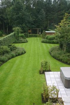 Garden Design Ideas On A Budget, Back Garden Design, Backyard Garden Design, Garden Landscape Design, Landscape Designs, Pool Garden, Garden Ideas, Patio Ideas, Backyard Ideas