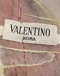 14731339958 Label  VALENTINO Roma FRC1997.04.009 Couture Outfits