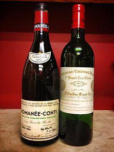 Romanée-Conti 1995 & St Emiliion Château Cheval Blanc 1995 #Sommelier #Oenologie #Negresco #Nice #Oenophilie #Tresors #Gastronomie