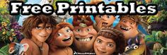 The Croods Free Printables | SKGaleana