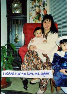 PostSecret: Wants her to love her again