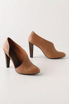 zapatos de tacón asimétricos -- Anthropologie