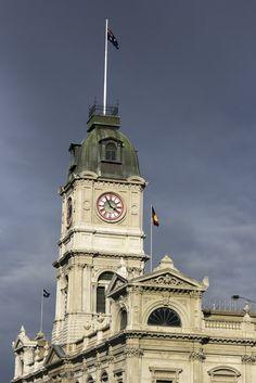 Ballarat Historic Architecture – Clock Tower Visit us on http://cbddentalballarat.com.au