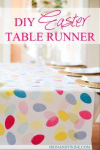 Easter Table Runner Ideas