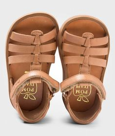 Pom Dapi Poppy Strap Sandals Clear Brown Clear Brown - 4