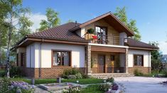 Style At Home, Philippines House Design, Philippine Houses, Modern Bungalow House, Home Design Plans, Cottage Homes, Cabana, Exterior Design, Modern Farmhouse