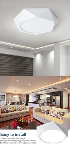 Item Type: Ceiling Lights Is Dimmable: No Power Source: AC Lighting Area: 15-30square meters Application: Foyer,Bathroom,Study,Kitchen,Dining Room Warranty: 2 year Number of light sources: > 20 Certification: RoHS,ce,CCC Material: PP/Plastic Usage: Emergency Light Source: LED Bulbs Body Material: Aluminum,ABS Features: Surface mounted Base Type: None Technics: Spent grinding Switch Type: None Style: Contemporary Is Bulbs Included: Yes Install Style: Surface mounted Finish: None Voltage: 85-265V