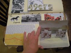 Lots of history lap books here EXCELLENT resource for Unit Studies! Pioneers unit here  http://www.jetsetterjess.com/
