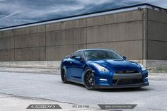 """Alpha 10 """"KU"""" Nissan GT-R by Jotech Motorsports in Garland TX . Click to view more photos and mod info."""