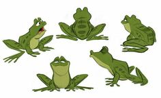 Prince Naveen frog character design