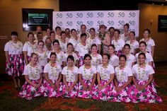 Our combined Kaka`ako campus JABSOM, Cancer Center students, faculty and staff hula halau performed for guests at JABSOM's 50th Anniversary Gala