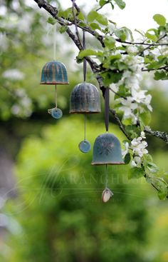 Sara makes the best bells ever! Love them! Bells by Sara G. studios