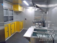 NEW X 18 Enclosed Mobile Kitchen Tail Gate Food Vending Concession Trailer Concession Trailer For Sale, Concession Food, Trailers For Sale, Tailgate Food, Tailgating, Used Food Trucks, Tail Gate, Bbq, Industrial Restaurant