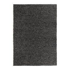IKEA HJORTHEDE Rug Grey 170x240 cm Handwoven by skilled craftspeople, and therefore unique.