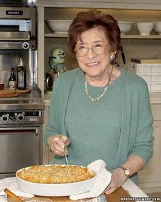 Mrs. Kostyra's Mac and Cheese Martha's grandmother was actually the originator of this delectable recipe. See how Martha and her mom gave it a more traditional spin.