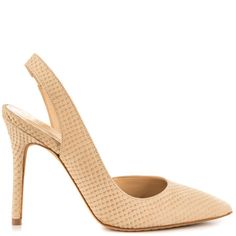 Loveee the texture.. ! Sassa - Light Nude Fishskin by Vince Camuto