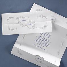 Two Fade Into One - #Invitation weddingneeds.carlsoncraft.com
