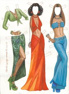 IMAN models BERTA 70's fashion