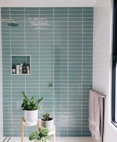 Santa may not be able to make a bathroom like this appear in your home but we can! When you start a project using our FREE online interior design service, we've paired these with paint colours, fittings, fixtures and more to help making yo Bathroom Tile Designs, Modern Bathroom Design, Bathroom Interior Design, Boho Bathroom, Master Bathroom, Family Bathroom, Terrazzo, Beaumont Tiles, Online Interior Design Services