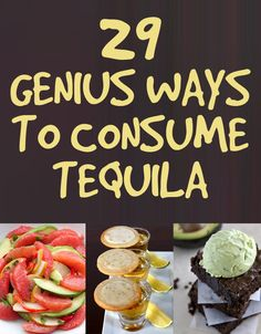 29 Genius Ways To Consume More Tequila. I need more friends so I can make these without feeling like an alcoholic.