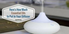 This article answers some common questions about how many drops of essential oil to use in your diffuser.