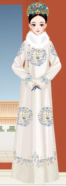 Gold Wedding Crowns, Qing Dynasty, Art Dolls, Chinese, Dresses, Style, Fashion, Vestidos, Swag