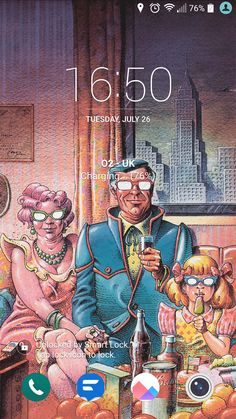 """Fallout-esque lock/home screen wallpaper setup. Source: """"Doomsday Illustration"""" by Cena #gaming #games #gamer #videogames #videogame #anime #video #Funny #xbox #nintendo #TVGM #surprise"""