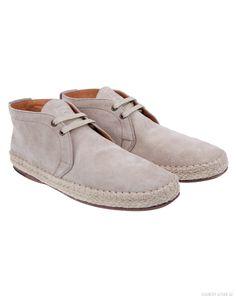 #BOSSOrange Men's Ansuedo Desert Boots – Light Grey #Boots #EspadrillesInspired #SS14