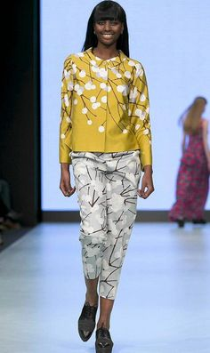 Marimekko's A/W 2013 fashion show at Stockholm Fashion Week