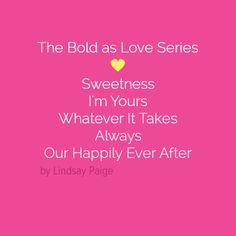 All five books listed in order. Happily Ever After, Book Lists, Love, Sweet, Books, Amor, Candy, Libros, Book