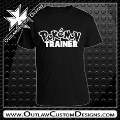 Pokemon - Pokermon Trainer (T-Shirt) - Outlaw Custom Designs, LLC