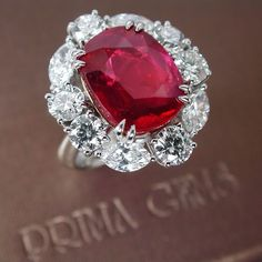 An Impressive Ruby and Diamond Ring from PrimaGems