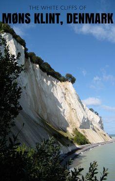 The white cliffs of Mons Klint, Denmark.