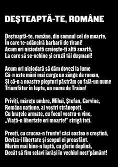 1 Decembrie, Romania, Lyrics, Quotes, Quotations, Song Lyrics, Quote, Shut Up Quotes, Music Lyrics