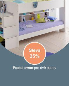 I nábytek může být krásným dárkem a teď navíc s 35% slevou. Bunk Beds, Police, Toddler Bed, Furniture, Design, Home Decor, Dinners, Child Bed, Decoration Home