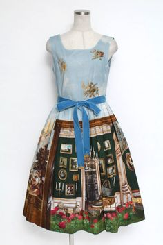 Jane Marple / English Manor House dress - closet child online shop