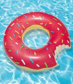 Gigantic Donut Pool Float: YES!