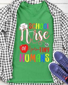 School Nurse Of Tiny Humans Nurse Back To School - Kelly nurse custome, emergency nurse, cricut nurse #explorenature #doglover #doglife