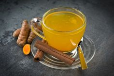Powerful Turmeric Detox Tea To Cleanse Your Liver And Lose weight Very Fast - Lose 40 Pounds In Just 1 Month With This Biggest Fat Burn Recipe! Weight Loss Meals, Weight Loss Drinks, Weight Loss Smoothies, Detox Tee, Turmeric Detox, Detox Drink Before Bed, Cleanse Your Liver, Cleanse Diet, Liver Detox