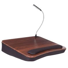 Portable Laptop Desk Bamboo Table Folding Lap Bed Serving Tray Drawer Stand Wood And