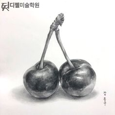 52 Fruit And Vegetable Drawing Ideas - Art Pencil Art Drawings, Realistic Drawings, Easy Drawings, Art Sketches, Pencil Sketch Drawing, Pencil Shading, Drawing Ideas, Fruit Painting, Pencil Painting