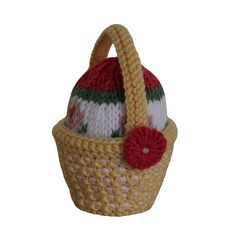 Ravelry: Easter Basket and Egg pattern by Sarah Gasson - Free Pattern