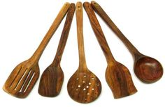 #TMAXstore : 5 piece Kitchen #Tools #Wooden #Ware #Utensils Set #Collection price, review and #buy in UAE, Dubai, #Abu Dhabi | #Souq.com