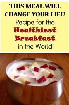 A Meal That Will Change Your Life - Recipe for the Healthiest Breakfast in the World