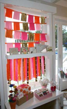 Guirlandes avec des franges.  14 décorations de fenêtres pour un printemps en couleurs