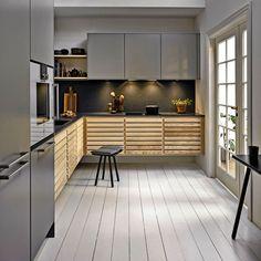 Classic køkken by uno form i Ash og Stone grey