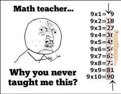Funny memes Teachers never teach this...