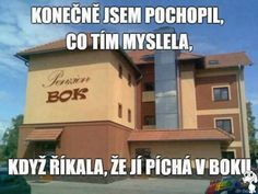 Že prý v boku Funny Quotes, Funny Memes, Jokes, Funny Pictures, Funny Pics, Haha, Comedy, Humor, Motto