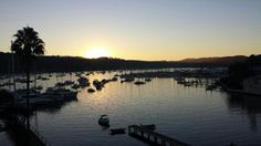 Stunning Autumn sunset at today' wedding at Newport Mirage, looking across Pittwater on Sydney's Northern Beaches.