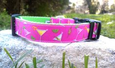 Happy Hour Dog Collar by WillyWoofs on Etsy, $16.00